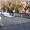 Pkw-Brücke mit Schrammbord